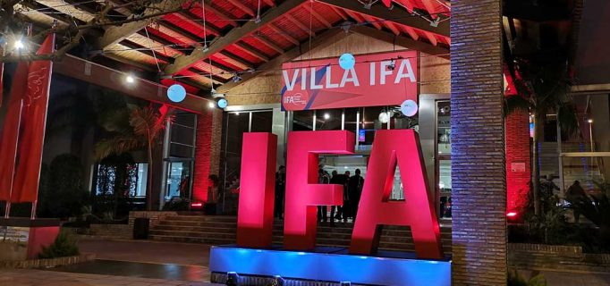 """Was planen Veranstalter und Industrie für die IFA 2019? Einen ersten Einblick gab die IFA Global Press Conference nahe Sevilla in der """"Villa IFA"""" Ende April – Foto: ssc"""