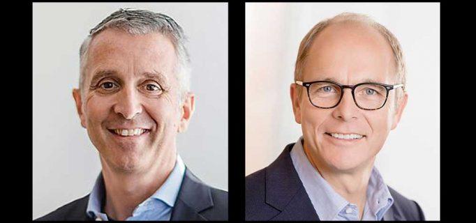 Der Unternehmergeist blieb der Familie Beurer/Bühler über die nachfolgenden Generationen erhalten. Seit 2003 leitet Urenkel Marco Bühler (links) in vierter Generation die Geschicke des Familienunternehmens, gemeinsam mit Georg Walkenbach (rechts) und Oliver Neuschl.