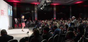 Eindrücke von der Global Press Conference 2019. Foto: Messe Berlin