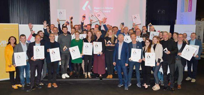… für gute Stimmung, nicht nur bei den Besuchern. Gejubelt wurde auch bei den Gewinnern des Austrian Interior Design Award 2019