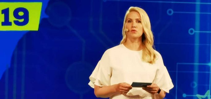 Gewohnt charmant moderierte Tagesschau-Sprecherin Judith Rakers durchs Programm