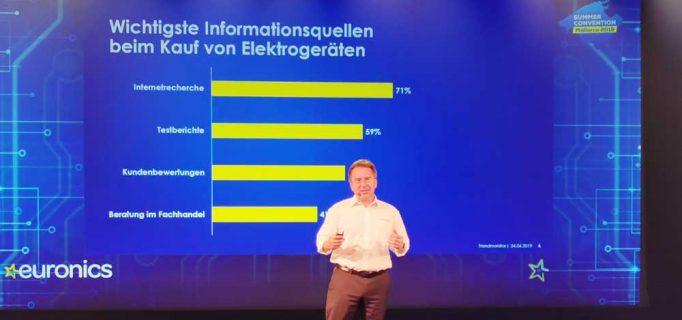 Der Euronics Trendmonitor gibt Einblicke in neueste Entwicklungen beim Kaufverhalten