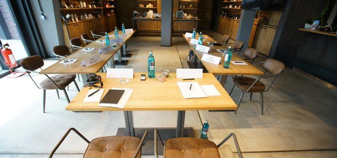 Die Expertenrunde fand am Stammsitz der Firma Graef im hauseigenen Bistro Mundwerk statt