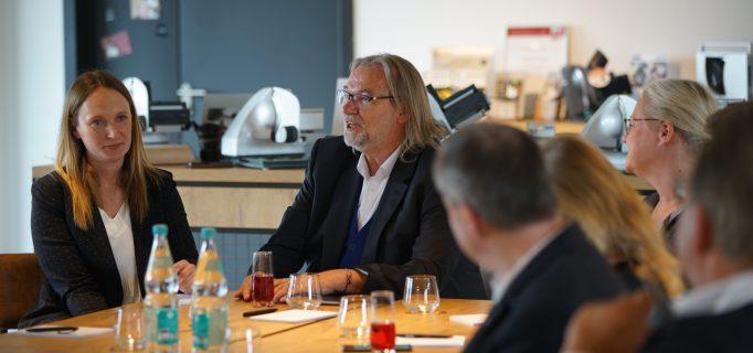 Graef Geschäftsführer Hermann Graef hat in seinen Töchtern Johanna und Franziska zwei kompetente Frauen im Unternehmen