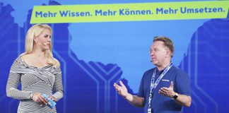 EURONICS Summer Convention 2019: Benedict Kober und Judith Rakers - Foto: Euronics