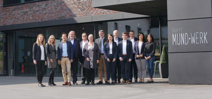 Gruppenbild der Expertenrunde vom dem Mundwerk bei Graef