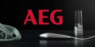 Elektrischer Fleckenstift von AEG für schnelle Sauberkeit