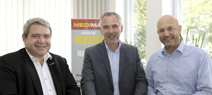 Medimax Franchiser mit Friedrich Sobol. Foto: Medimax