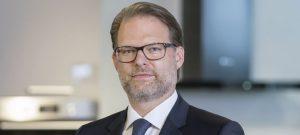 Till Bickelmann, Director Sales & Marketing DACH der Bauknecht Hausgeräte GmbH. Foto: Wolfram Scheible
