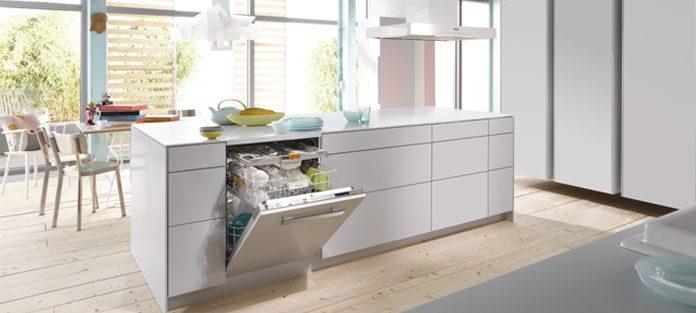 Miele Einbaugerät Spülmaschine. Foto: Miele