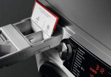 AEG Waschmaschine Auffüllschublade. Foto: AEG