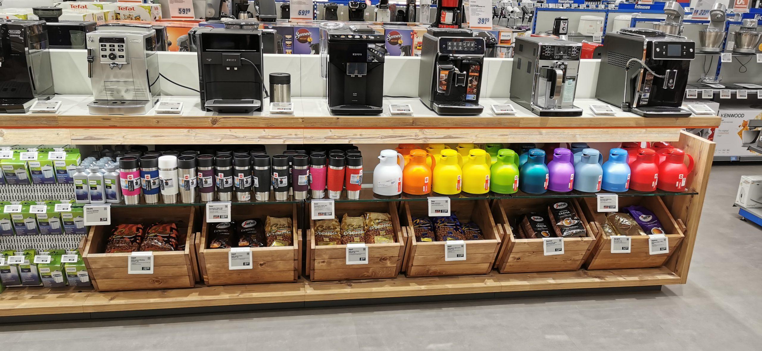Kaffeeabteilung
