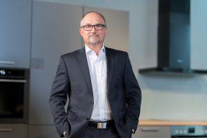 Ralf Birk, Sales Director Kitchen Retail AEG Hausgeräte. Foto: AEG