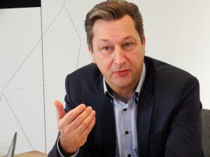 Harald Friedrich, Geschäftsführer Robert Bosch Hausgeräte GmbH. Foto: CE-Markt electro / Alexander Zöhler