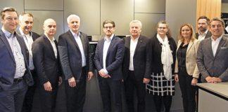 Gruppenbild CE-Markt electro Expertenrunde 2020, BSH. Foto: CE-Markt electro / Alexander Zöhler