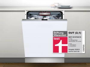 Neff Spülmaschine Stiftung Warentest mit Logo