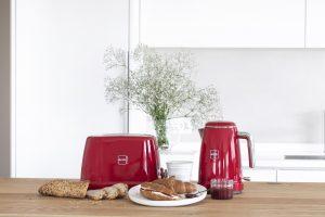 Novis Toaster T2 und Wasserkocher K1. Foto: Novis