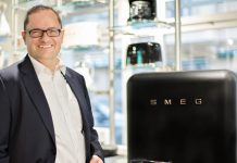 SMEG Key Account Manager Robert Tsanakaliotis. Foto: Smeg
