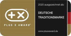 """Thomas ist ausgezeichnet als """"Deutsche Traditionsmarke""""."""