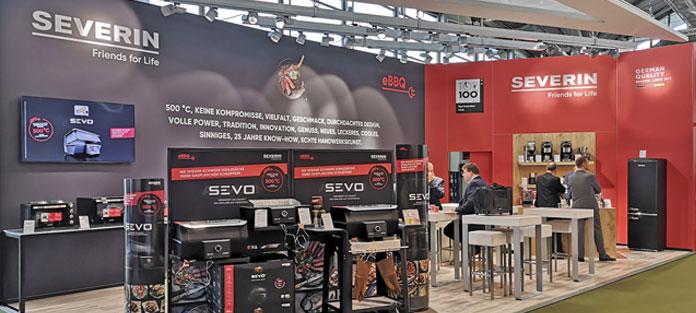 Severin Stand auf Ambiente 2020. Foto: Severin