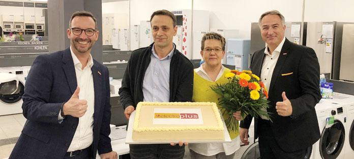 Markenstore Electroplus Lindner. Foto: EK Servicegroup