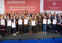 """Die Gewinner der Auszeichnung """"Kücheninnovation des Jahres 2020"""". Foto: Life Care"""