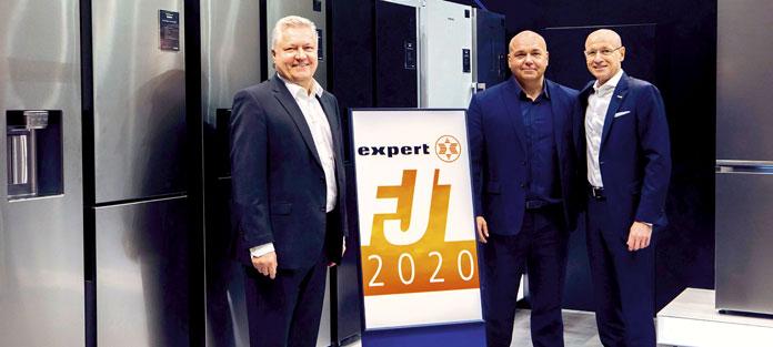 Expert und Samsung auf der Frühjahrstagung 2020. Foto: Expert