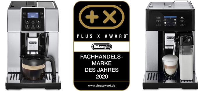 De'Longhi beim Plus X Award Fachhandelsmarke 2020
