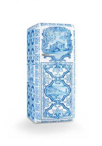 Kühlschrank im Majolika Muster von Smeg und Dolce Gabbana. Foto: Smeg