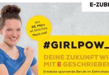 Werbeplakat ZVEH Girls Day am 26.3.2020. Foto: ArGe Medien im ZVEH