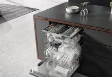 Miele Geschirrspüler G 5000 eleganter Einbau. Foto: Miele