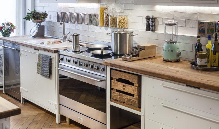 Smeg und noodles kitchen furniture. Foto: Smeg