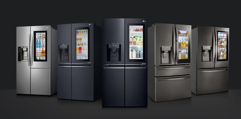LG Instaview Kühlschränke. Foto: LG