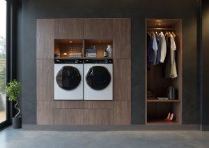 Haier I-Pro 7 Serie mit Waschmaschine und Trockner. Foto: Haier