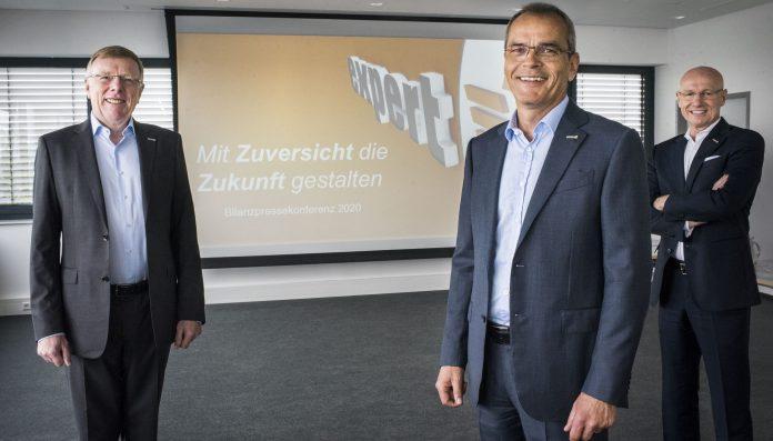 expert-Vorstand 2020. Foto: expert