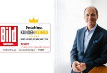 Beurer Geschäftsführer Georg Walkenbach. Foto: Beurer