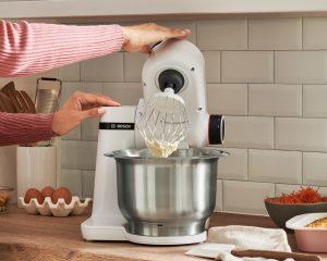 Bosch Küchenmaschine MUM Serie 2 in weiß. Foto: Bosch