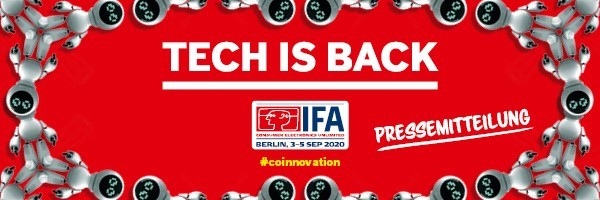 IFA Tech is back 2020. Foto: IFA