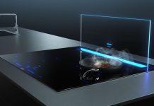 Siemens iQ700 Tischlüfter glassdraftAir. Foto: Siemens