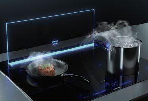 Siemens iQ700 Tischlüfter glassdraftAir2. Foto: Siemens