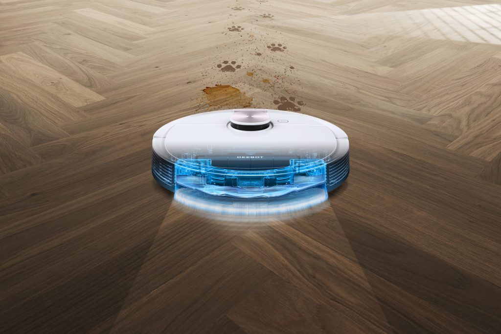 Deebot Ozmo T8 Ozmo Pro. Foto: Ecovacs Robotics