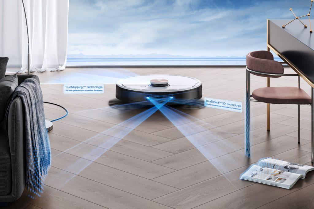 Ecovacs Robotics Deebot Ozmo. Foto: Ecovacs