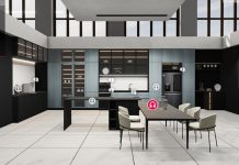 LG Virtual Booth Dining Room. Foto: LG