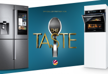 Samsung Home Appliances bei The Taste. Foto: Samsung