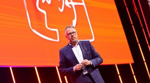 Volker Klodwig, Executive Vice President Sales BSH Home Appliances auf der IFA 2020 Special Edition Foto: gfu
