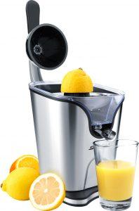 Steba ZP 3 FProduktbild mit Zitronen. Foto: Steba