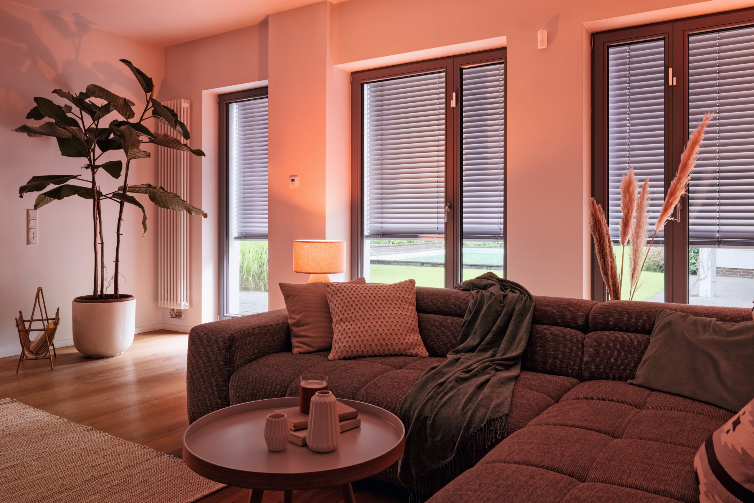 Bosch Smart Home Lichsteuerung Brandschutz. Foto: Bosch