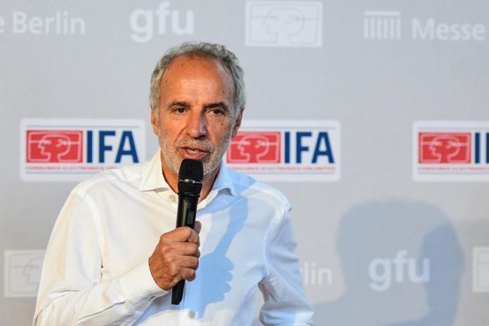 Hans-Joachim Kamp auf der IFA