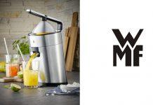 WMF Profi Plus Zitruspresse und Logo. Foto: WMF