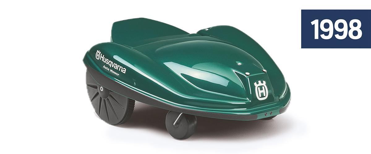 Husqvarna Automower 1998. Foto: Husqvarna